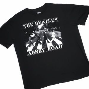 The Beatles | Abbey Road Graphic Tshirt Black